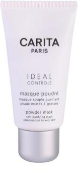 Carita Idéal Contrôle máscara de limpeza para pele oleosa e mista