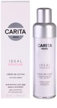 Carita Ideal Douceur ránctalanító krém az érzékeny arcbőrre