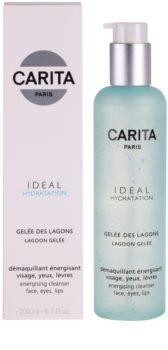 Carita Ideal Hydratation gel limpiador energizante  para rostro y ojos