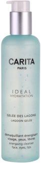 Carita Ideal Hydratation energizujúci čistiaci gél na tvár a oči