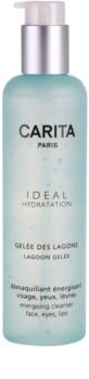 Carita Ideal Hydratation gel nettoyant énergisant visage et yeux