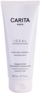 Carita Ideal Hydratation posvetlitvena vlažilna maska s takojšnim učinkom