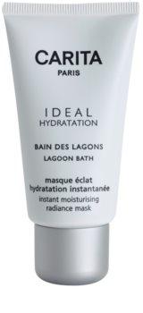 Carita Ideal Hydratation bőrvilágosító hidratáló maszk azonnali hatással