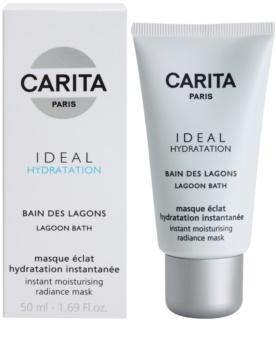 Carita Ideal Hydratation posvjetljujuća hidratantna maska s trenutnim učinkom