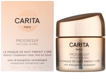 Carita Progressif Anti-Age Global mascarilla facial revitalizante de noche