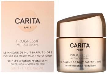 Carita Progressif Anti-Age Global revitalisierende Gesichtsmaske für die Nacht