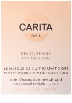 Carita Progressif Anti-Age Global revitalizačná pleťová maska na noc