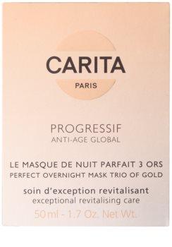 Carita Progressif Anti-Age Global revitalizační pleťová maska na noc