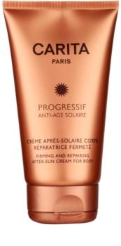 Carita Progressif Anti-Age Solaire crème apaisante après-soleil effet raffermissant