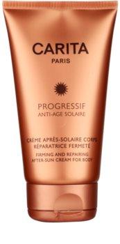 Carita Progressif Anti-Age Solaire заспокоюючий крем після засмаги зі зміцнюючим ефектом