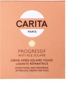 Carita Progressif Anti-Age Solaire gladilna in pomirjajoča krema po sončenju