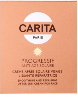 Carita Progressif Anti-Age Solaire λειαντική και καταπραϋντική κρέμα μετά την ηλιοθεραπεία
