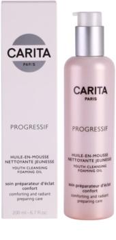 Carita Progressif Cleaners nyugtató és tisztító olaj