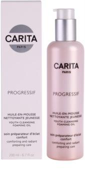 Carita Progressif Cleaners upokojujúci čistiaci olej
