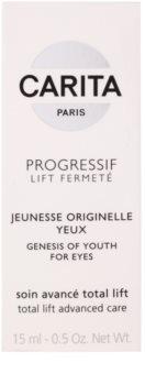 Carita Progressif Lift Fermeté oční gel proti vráskám, otokům a tmavým kruhům