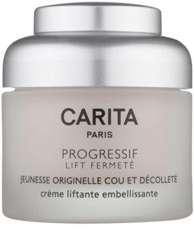 Carita Progressif Lift Fermeté Liftingcrem für Hals und Dekolleté