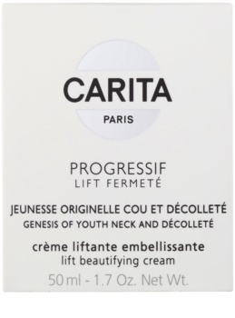 Carita Progressif Lift Fermeté Lifting Cream For Neck And Décolleté