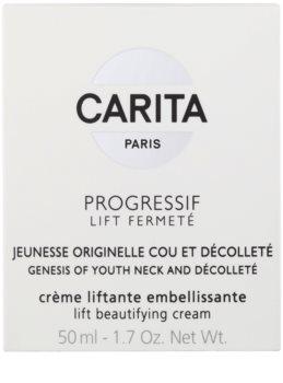 Carita Progressif Lift Fermeté lifting krema za vrat in dekolte