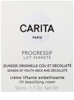 Carita Progressif Lift Fermeté liftingový krém na krk a dekolt