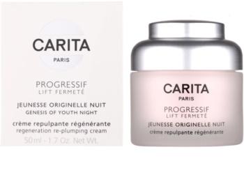 Carita Progressif Lift Fermeté Regenerating Night Cream with Anti-Wrinkle Effect