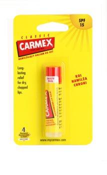 Carmex Classic hydratačný balzam na pery v tyčinke SPF 15