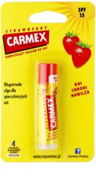 Carmex Strawberry baume à lèvres hydratant en stick SPF 15