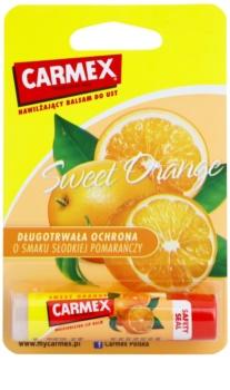 Carmex Sweet Orange balsam pentru buze cu efect hidratant