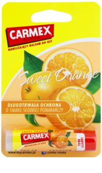 Carmex Sweet Orange Moisturising Lip Balm