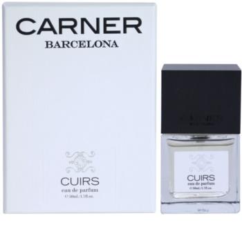 Carner Barcelona Cuirs Eau de Parfum unissexo 50 ml