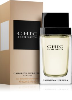 Carolina Herrera Chic For Men eau de toilette pour homme 100 ml