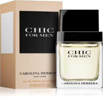 Carolina Herrera Chic For Men eau de toilette pentru barbati 60 ml