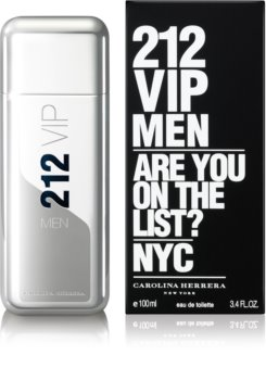 Carolina Herrera 212 VIP Men Eau de Toilette voor Mannen 100 ml