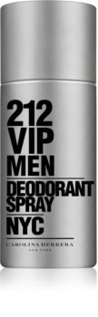 Carolina Herrera 212 VIP Men Deo Spray voor Mannen 150 ml