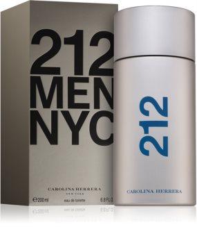 Carolina Herrera 212 NYC Men Eau de Toilette para homens 200 ml