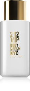 Carolina Herrera 212 VIP losjon za telo za ženske 200 ml