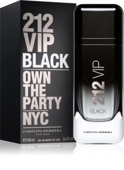 Carolina Herrera 212 VIP Black parfumska voda za moške 100 ml
