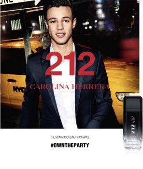 Carolina Herrera 212 VIP Black eau de parfum per uomo 100 ml