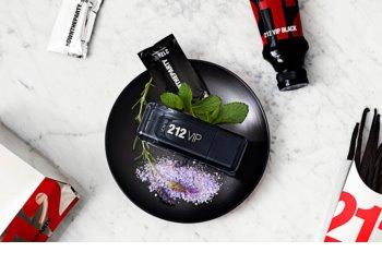 Carolina Herrera 212 VIP Black eau de parfum pentru bărbați 100 ml