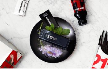Carolina Herrera 212 VIP Black Parfumovaná voda pre mužov 100 ml
