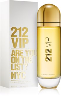 88e79c0504815 Carolina Herrera 212 VIP, eau de parfum para mulheres 125 ml   notino.pt