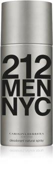 Carolina Herrera 212 NYC Men deodorant spray para homens 150 ml