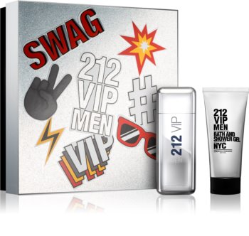 Carolina Herrera 212 VIP Men poklon set IV. za muškarce