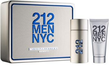 Carolina Herrera 212 NYC Men darčeková sada V.