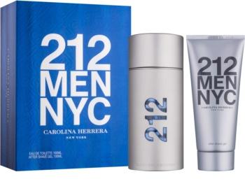 Carolina Herrera 212 NYC Men dárková sada VII.