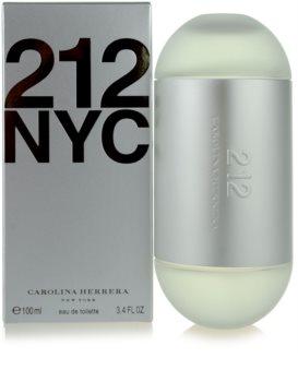 Carolina Herrera 212 NYC Eau de Toilette für Damen 100 ml