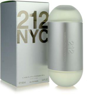 Carolina Herrera 212 NYC eau de toilette pentru femei 100 ml
