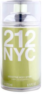 Carolina Herrera 212 NYC tělový sprej pro ženy 250 ml