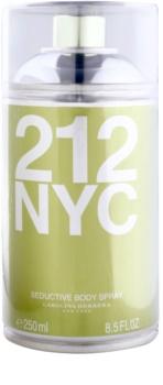 Carolina Herrera 212 NYC testápoló spray nőknek 250 ml