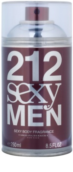 Carolina Herrera 212 Sexy Men spray corporel pour homme 250 ml