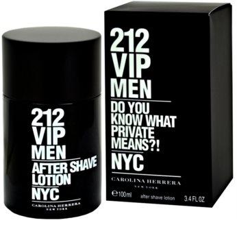 Carolina Herrera 212 VIP Men After Shave Lotion for Men 100 ml